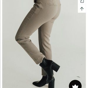NWOT Ansel checkered slacks